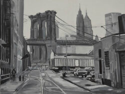 Angela Wakefield Brooklyn Bridge New York