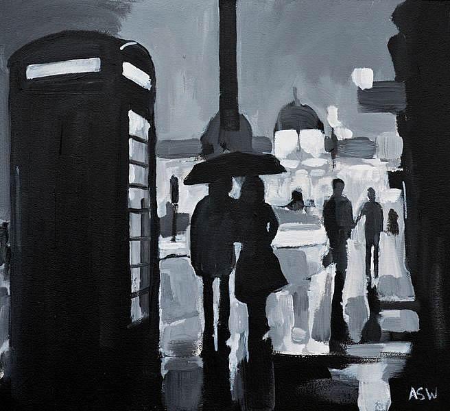 Angela Wakefield Trafalgar Square Studyi