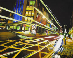 Angela Wakefield Light Trails Manchester 2010