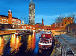 Angela Wakefield Rochdale Canal Manchester