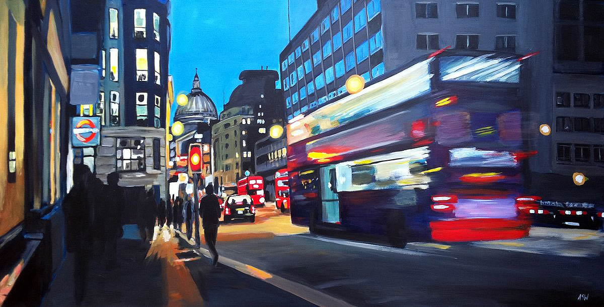 Bus to St pauls - London