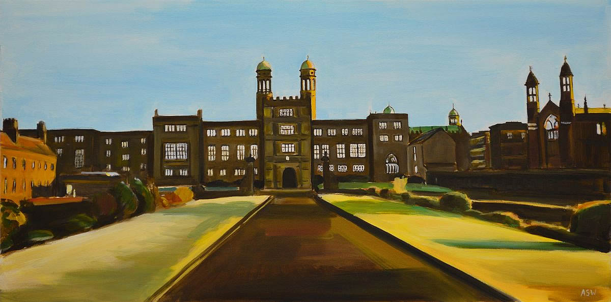 Painting of Stonyhurst College | Angela Wakefield