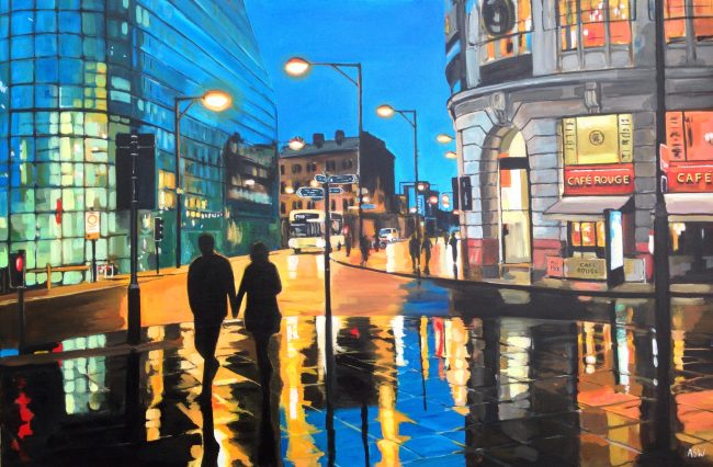 painting of manchester