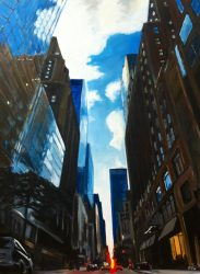 Painting of New York City