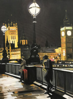 London Saxophonist, Westminster Painting