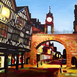 Paintings of Cheshire