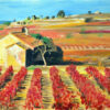 Angela Wakefield French Vineyard