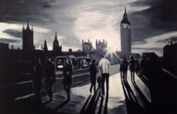 Painting of Westminster, London