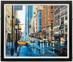 New York Rain by Angela Wakefield