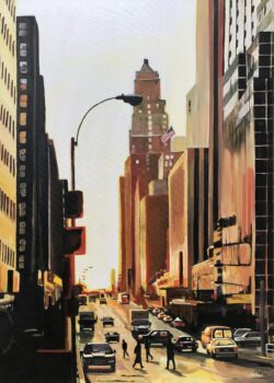 Painting of New York