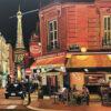 Paris Painting by Angela Wakefield