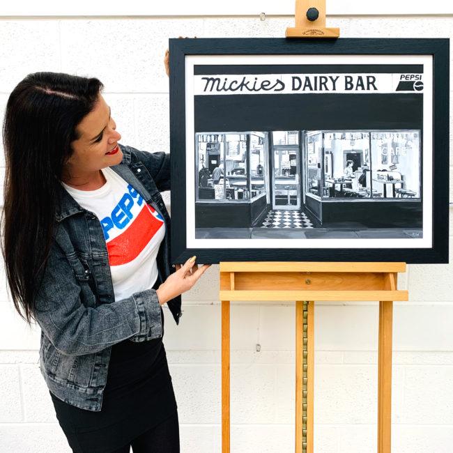 Paintings of American Diners by British Artist Angela Wakefield