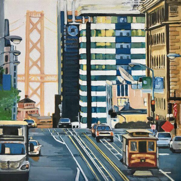 Angela Wakefield San Francisco Painting