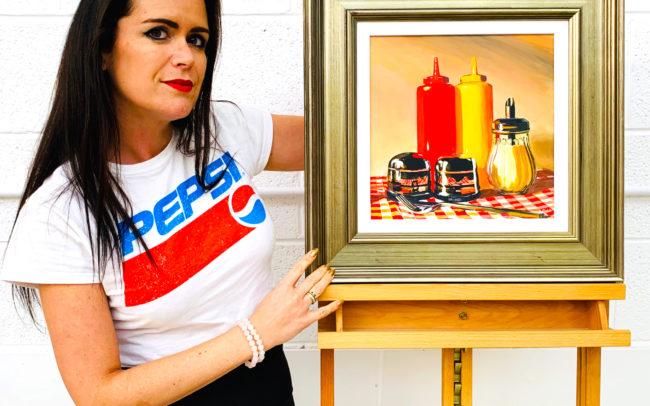 Angela Wakefield Still Life Paintings