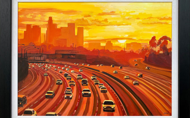 Los Angeles Sunset by Angela Wakefield