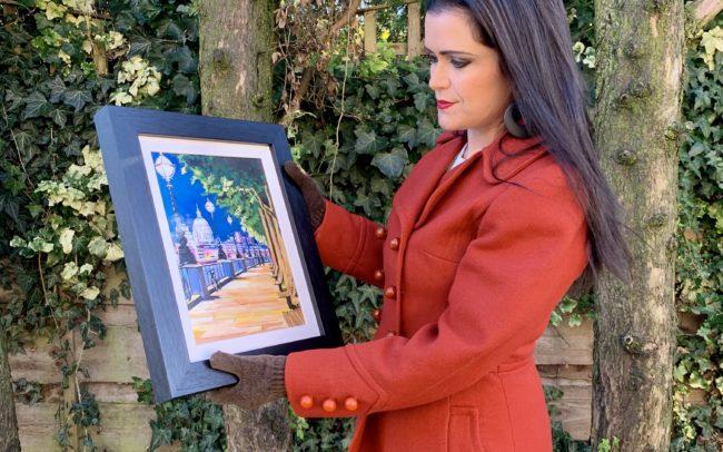 Angela Wakefield Paintings of London